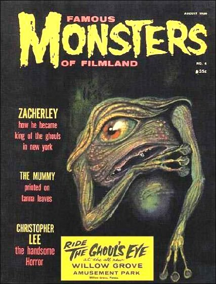 Famous Monsters of Filmland # 4 thumbnail
