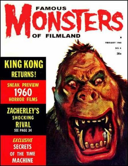 Famous Monsters of Filmland # 6 thumbnail
