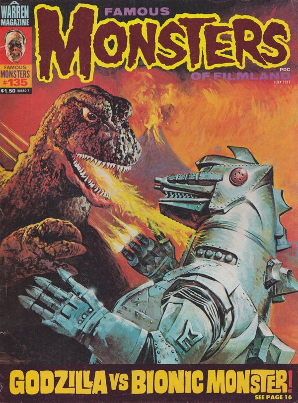 Famous Monsters # 135, July 1977 thumbnail