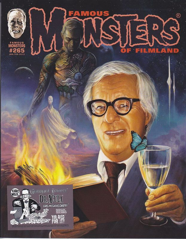 Famous Monsters of Filmland # 282 magazine back issue Famous Monsters of Filmland magizine back copy