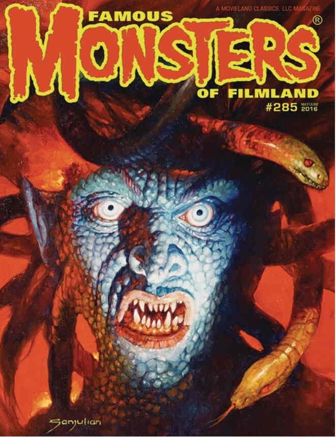Famous Monsters of Filmland # 285 - Alternate Cover magazine back issue Famous Monsters of Filmland magizine back copy
