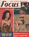 Focus October 1950 magazine back issue