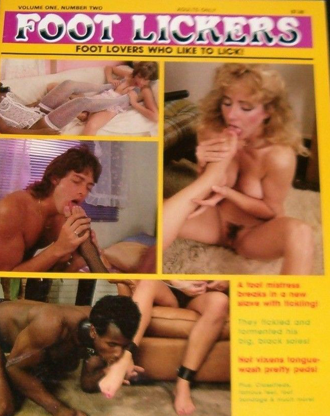 Foot Lickers Vol. 1 # 2 magazine back issue Foot Lickers magizine back copy