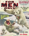 For Men Only February 1957 magazine back issue cover image