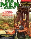 For Men Only February 1960 magazine back issue cover image