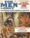 For Men Only February 1962 magazine back issue cover image