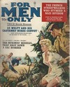 For Men Only April 1962 magazine back issue cover image