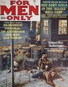For Men Only July 1962 magazine back issue cover image
