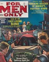 For Men Only September 1962 magazine back issue cover image
