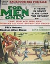 For Men Only December 1962 magazine back issue cover image