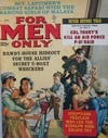 For Men Only April 1963 magazine back issue cover image