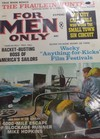 For Men Only January 1966 magazine back issue cover image