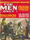 For Men Only February 1966 magazine back issue cover image