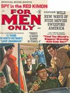 For Men Only April 1966 magazine back issue cover image