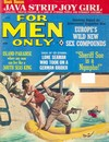 For Men Only June 1966 magazine back issue cover image