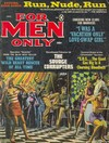 For Men Only January 1968 magazine back issue cover image