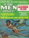 For Men Only April 1968 magazine back issue cover image