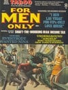 For Men Only May 1968 magazine back issue cover image