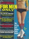 For Men Only February 1972 magazine back issue cover image