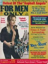 For Men Only March 1972 magazine back issue cover image