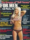 For Men Only August 1972 magazine back issue cover image