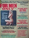 For Men Only October 1972 magazine back issue cover image