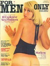 For Men Only January 1975 magazine back issue cover image