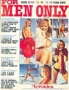 For Men Only February 1975 magazine back issue cover image