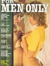 For Men Only April 1975 magazine back issue cover image