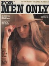 For Men Only May 1975 magazine back issue cover image