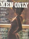 For Men Only August 1975 magazine back issue cover image