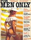 For Men Only September 1975 magazine back issue cover image