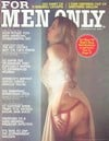 For Men Only October 1975 magazine back issue cover image