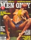 For Men Only February 1977 magazine back issue cover image