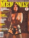 For Men Only March 1977 magazine back issue cover image