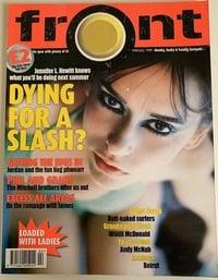 Front # 4, February 1999 magazine back issue