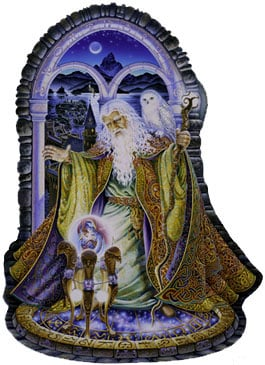 spellbound jigsaw puzzle, 3 feet tall, fx schmid puz, sally j smith artwork spellbound