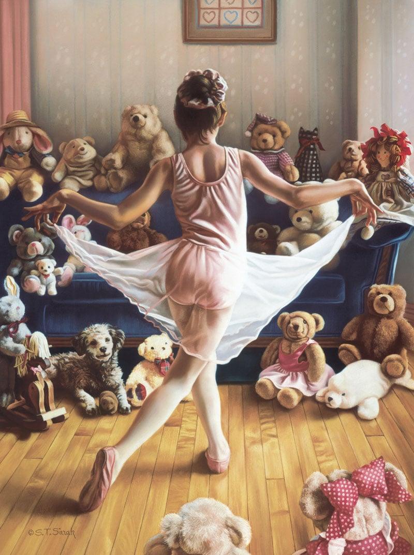audition painting artist tomsierak fx schmid puzzle 1000pieces audition-tom-sierak