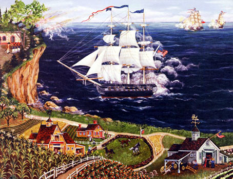 artwork by kemon sermos, 2000 pieces jigsaw puzzle by fx schmid, theussconstitution