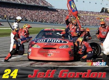 jeff gordon number 24 nascar jigsaw puzzle 1000 piece puzzle fx schmid made in the usa not germany jeffgordon24