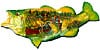 sportsmanssurprise,fish-shaped jigsaw puzzle, 1000 pieces fx schmid puzzle