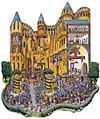 royalfestival,royal festival castle shaped jigsaw puzzle fx schmid fantasy details 1000 pieces great shaped puzzle