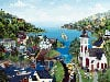 newenglandlife,life in new england, usa artist rob logrippo made by f.x. schmidt puzzles