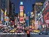 times square glow in the dark jigsaw puzzle made by fxshmid painted by kenkeeley