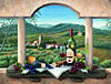 vineyard bounty 1500 piece jigsaw puzzle made in germany fx schmidt puzzlecompany barbara jelisky pa