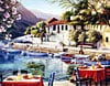 greek harbor jigsaw puzzle, clementoni 2000 pieces Puzzle