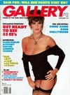 gallery magazine back issues, nude women pictorial, erotic funny cartoons, political articles,  1991 Magazine Back Copies Magizines Mags