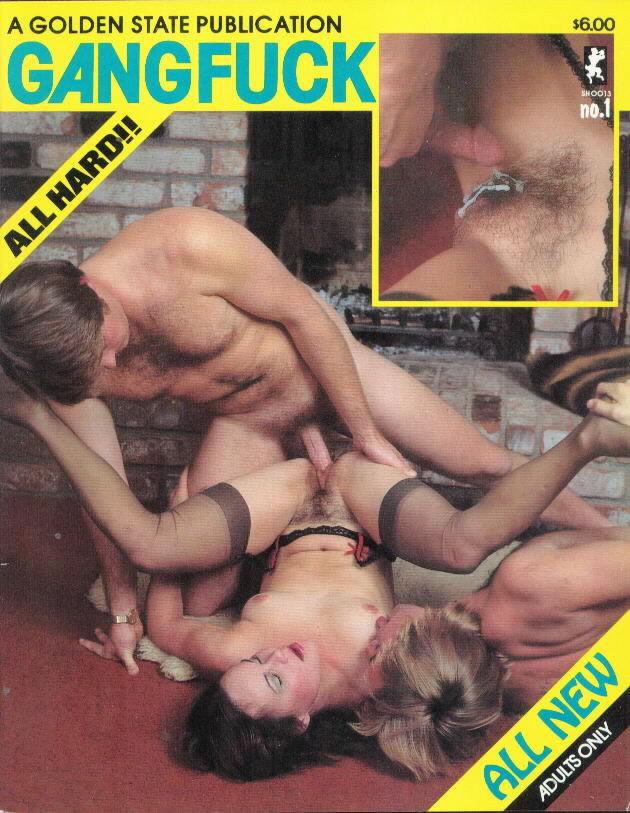 Gang Fuck # 1 magazine back issue Gang Fuck magizine back copy
