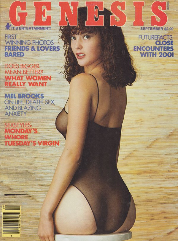 Genesis September 1978 magazine back issue Genesis magizine back copy genesis magazine back issues 78 amateur contest xxx photos erotic sexy pictorials mel brooks intervi