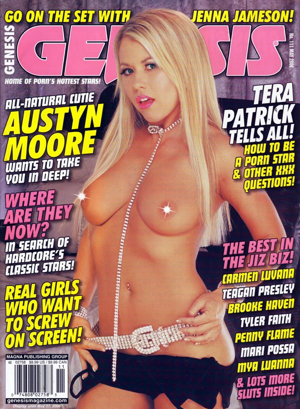 Genesis # 111 - May 2006 magazine back issue Genesis magizine back copy Genesis XXX RagMag Adult SexMag BackIssue JennaJameson TeraPatrick AustynMoore